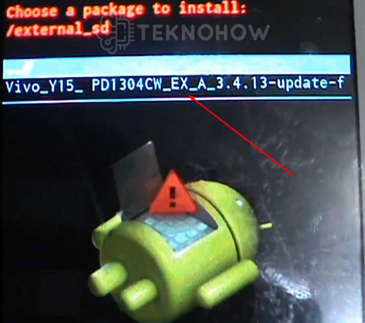 Firmware Vivo Y15