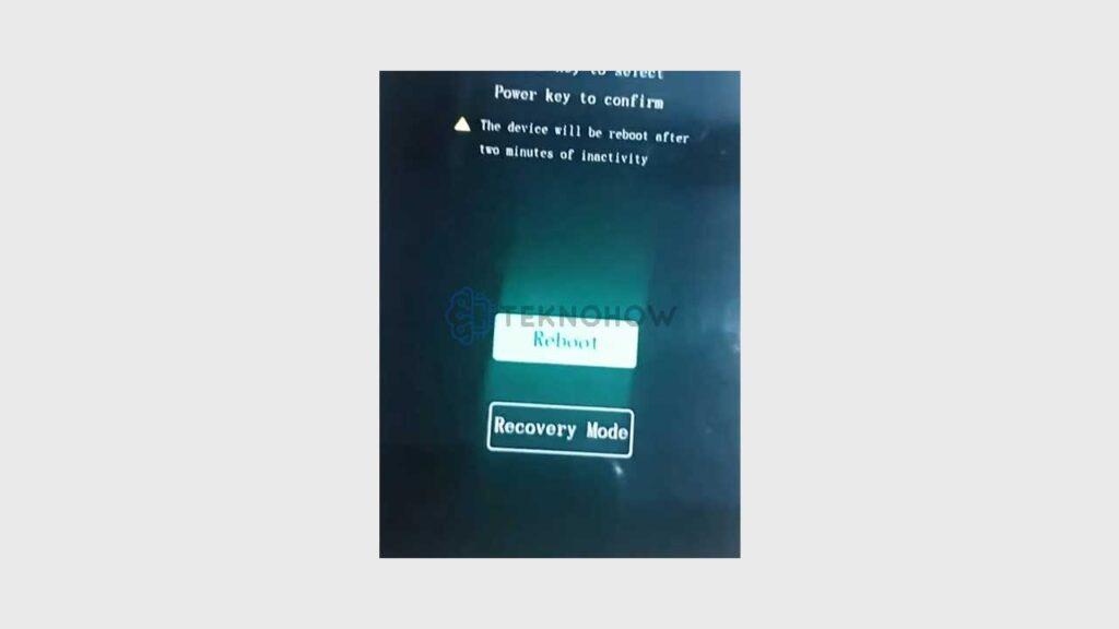 Recovery Mode Vivo Y53