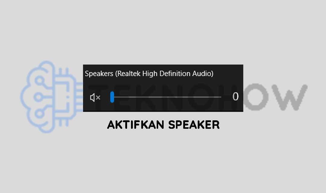 Aktifkan speaker