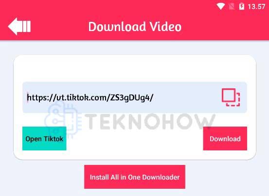 Download Video Tiktok Tanpa Ada Logonya
